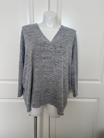 Linger Longer Lounge Sweater in Gray