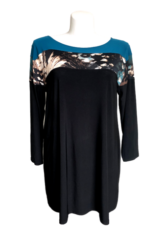 Fall travel dress for petite plus size.