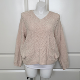 Snow Days Chenille Sweater in Ivory