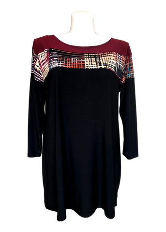 Petite plus size fall dress