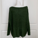 Bring on the Rain Sweater in Green