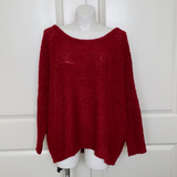 Bring on the Rain Sweater in Red