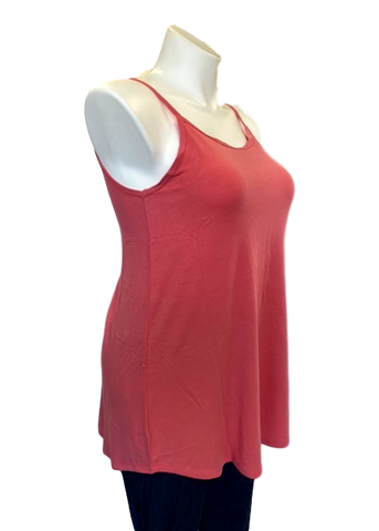 Reversible Spaghetti Strap Swing Top Pink