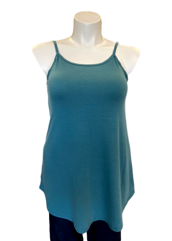 Reversible Spaghetti Strap Swing Top Teal