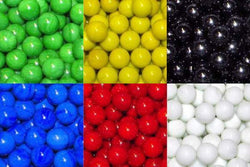 "Mega Fun Sixty 1"" (25mm) Opaque Glass Marbles All"