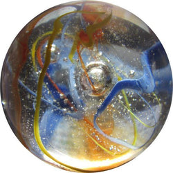 "Mega Fun 2"" (50mm) Translucent Fiesta Toebreaker Glass Marbles Full"