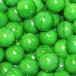 "Mega Fun 1"" (25mm) Opaque Green Glass Marbles"