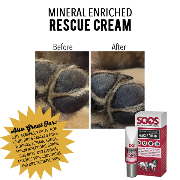 Natural Dead Sea Mineral Enriched Pet Rescue Cream For Dogs & Cats