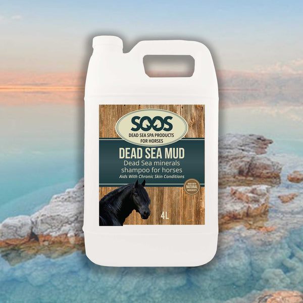 Soos Dead Sea Mud Shampoo For Horses