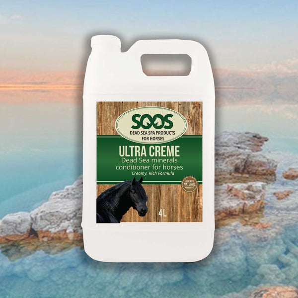 Soos Ultra Creme Dead Sea Minerals Conditioner For Horses