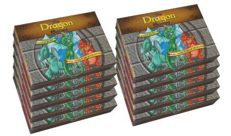 Big box of The Dragon Games