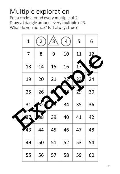 Flexible Fluency M6: Activity sheets for 6 times table. One teacher licence.