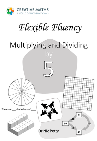 Flexible Fluency M5: Activity sheets for 5 times table. One teacher licence.