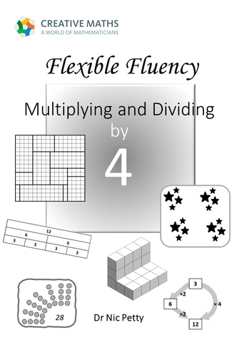 Flexible Fluency M4: Activity sheets for 4 times table. One teacher licence.