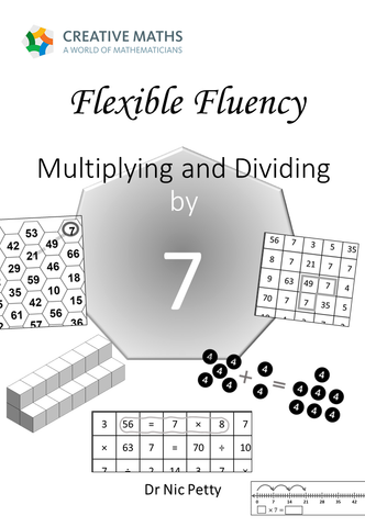 Flexible Fluency M7: Activity sheets for 7 times table. One teacher licence.