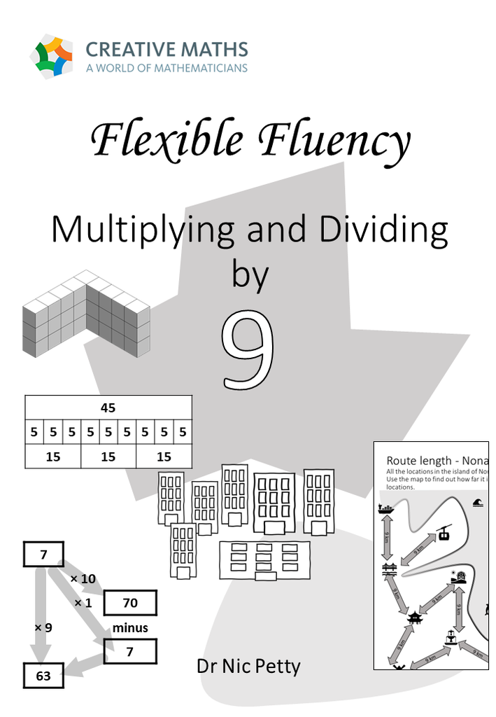 Flexible Fluency M9: Activity sheets for 9 times table. One teacher licence.