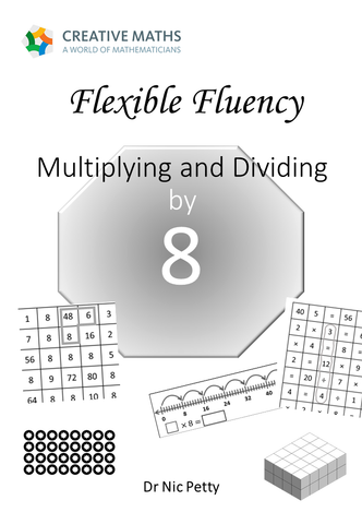 Flexible Fluency M8: Activity sheets for 8 times table. One teacher licence.