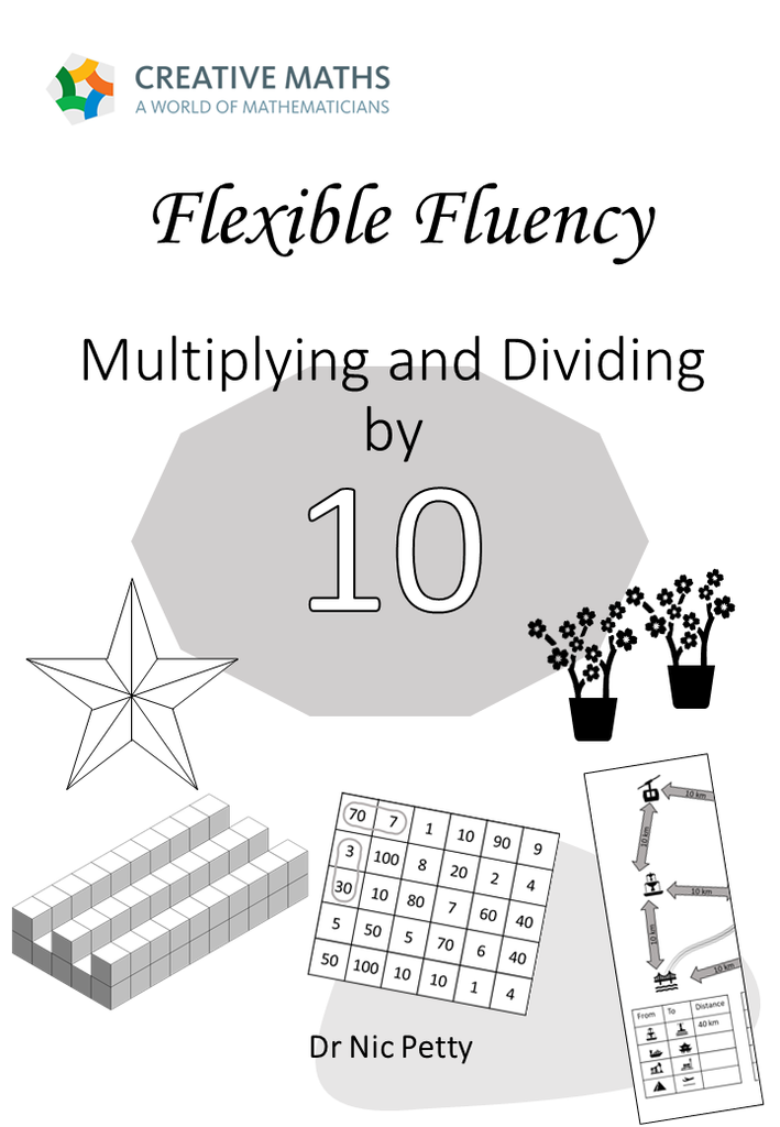 Flexible Fluency M10: Activity sheets for 10 times table. One teacher licence.
