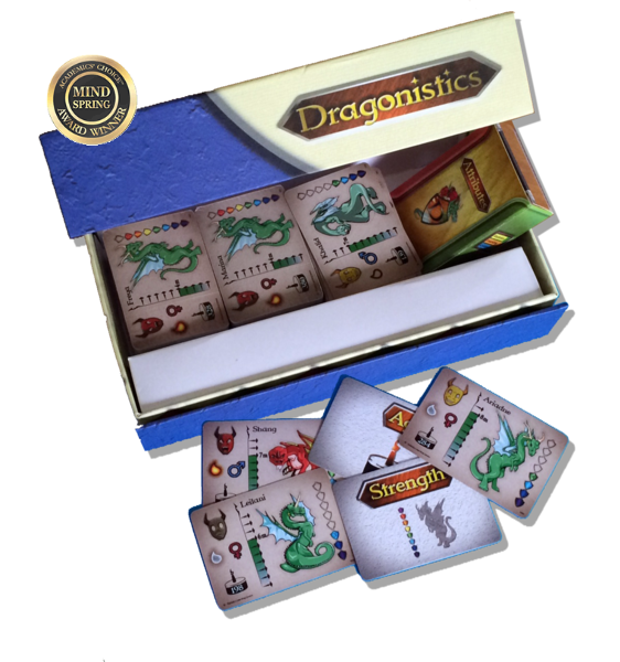 Dragonistics Data Cards 240 mini-card deck (edition 1)