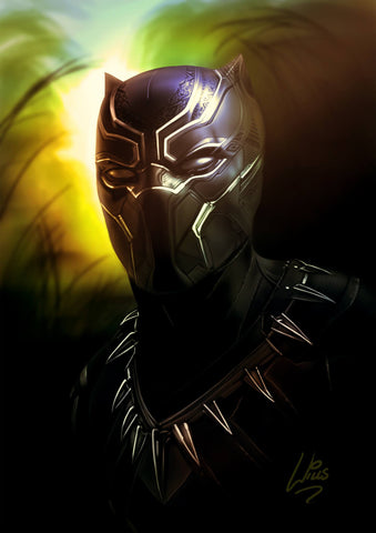 Black Panther by Richard Williams