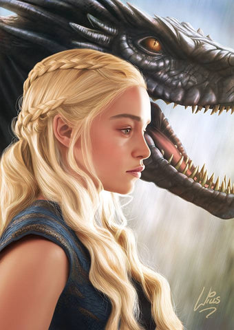 Daenerys Targaryen by Richard Williams