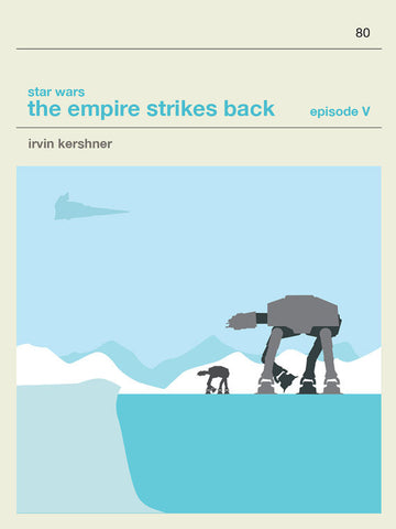 Star Wars Episode V The Empire Strikes Back Inspired Framed Print