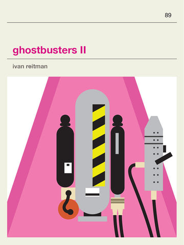 Ghostbusters 2 Inspired Framed Print
