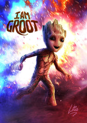 I am Groot by Richard Williams