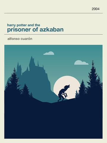 Harry Potter and The Prisoner of Azkaban Inspired Framed Print