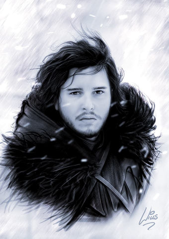 Jon Snow by Richard Williams