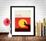The Lion King Inspired Framed Print
