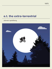 E.T. The Extra Terrestrial Inspired Framed Print