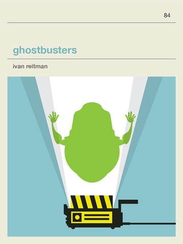 Ghostbusters 1 Inspired Framed Print