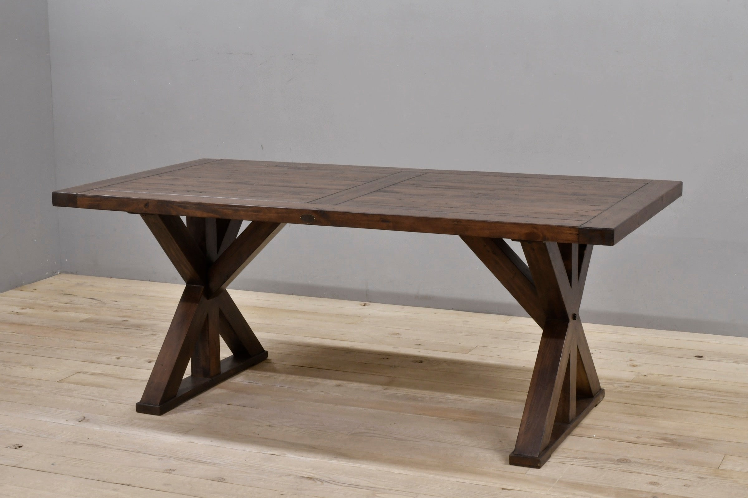 "Harvest Table 75"" Coffee Bean"