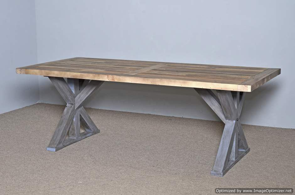 Exceptional Harvest Table Rustic Natural