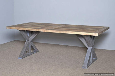 "Harvest Table 84"" Rustic Natural"