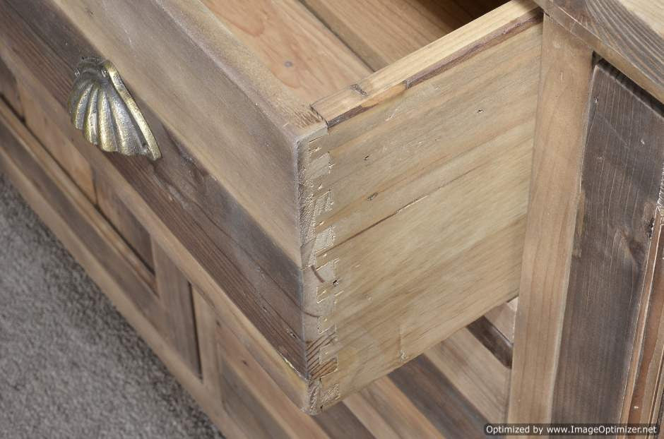Very best Reclaimed Wood Buffet Hutch – Restored Timbers AL46