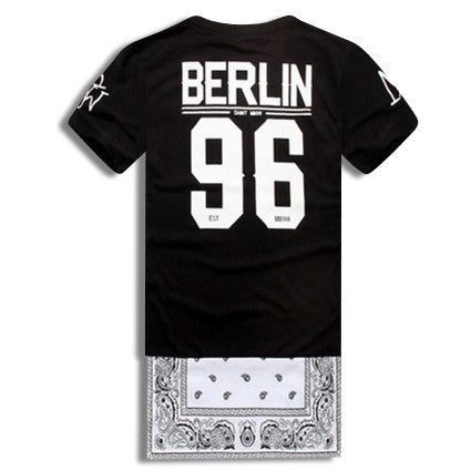 5 Star General Berlin Extended Shirt with Side Zippers Front