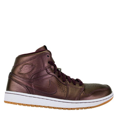 Air Jordan 1 Mid Nouveau Deep Burgundy White Gum