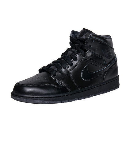 Air Jordan 1 Mid Sneaker Black