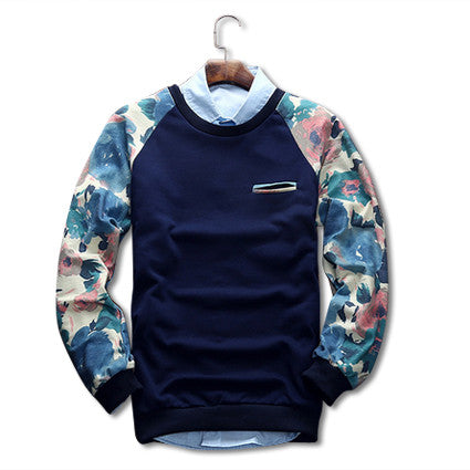 Autumn Sweatshirt Blue Front