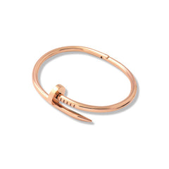 Bent Nail Bracelet Rose Gold