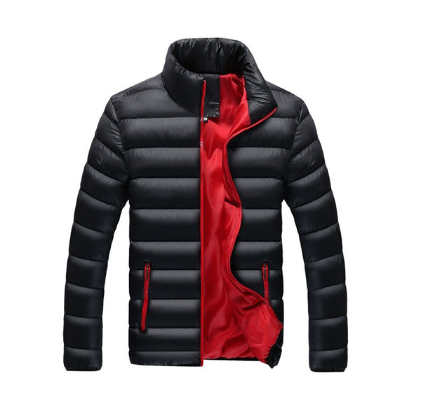 Padded Slim Fit Winter Parka
