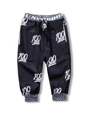 Black Hundred Dollar Jogger Shorts