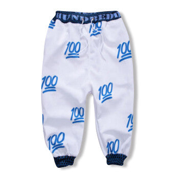 Blue Hundred Dollar Jogger Shorts