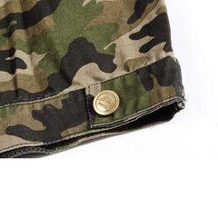 Camo Military Style Streetwear Vest Bottom