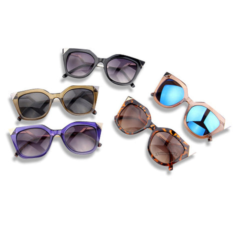 Cat Eye Temple Sunglasses