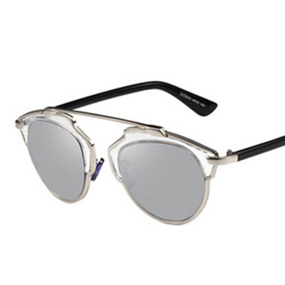 Beluga Wire Frame Sunglasses