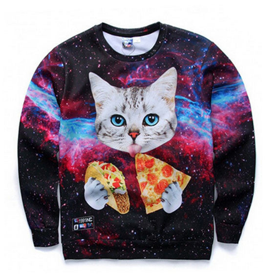 Cat Knows Best Sweatshirt