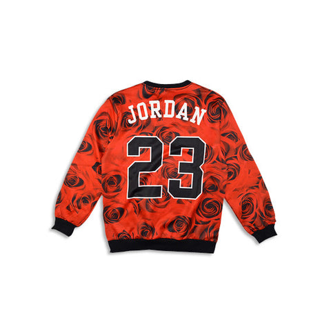 Chicago Roses Sweatshirt Front